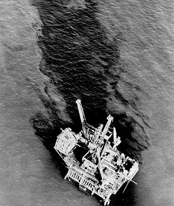 In the winter of 1969, 3 million gallons of oil began leaking from an offshore drilling site off the Santa Barbara coast. It would eventually be contained, but the incident helped spark landmark environmental legislation to protect the nation's waters and air.