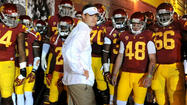 USC will open spring football practice next Tuesday, the school announced.