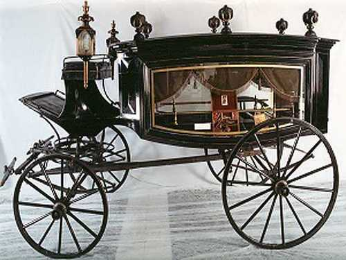 From an 1860 Lincoln's Horse-drawn Hearse to a 1953 Cadillac Eldorado Convertible, the museum has more than 80 vehicles and other historic memorabilia on display.
