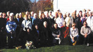 The Winter Street School Alumni Association visited Bedford Springs (Pa.) Hotel and Shanksville, Pa., which is the site of the Flight 93 Memorial on Oct. 9.