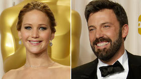 Oscars: Jennifer Lawrence now brunet, Ben Affleck shaves beard