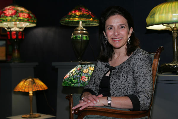 Arlie Sulka, an expert on Louis Comfort Tiffany art, will speak in Winter Park.