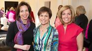 On Wednesday, February 6, 2013, the Women's Board of Catholic Charities, Lake County Services held their annual Kick-Off Luncheon to the Art of Caring Gala. The featured speaker was Connie Duckworth, former Partner and Managing Director of Goldman Sachs. She is Social Entrepreneur of ARZU, an organization to empower destitute women in rural Afghanistan. ARZU provides access to education, basic healthcare, building community centers and creates award-winning fair-labor rugs. A sell-out crowd of 180 members and guests were greeted by Women's Board President Debby Lambert of Lake Forest along with chairpersons Joanie Reynolds and Mary Ann Moschner also of Lake Forest and Midge Nelson of Lake Bluff.