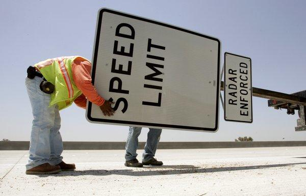 Nevada speed limit