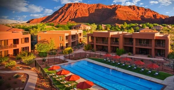 Red Mountain Resort, an all-inclusive fitness resort, is about a half hour from St. George, Utah.