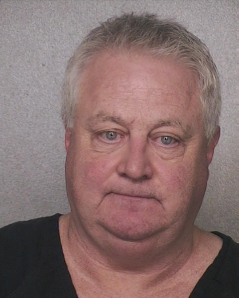 Coconut Creek Police Sgt. Curtis Cuddeback is arrested on allegation of DUI.