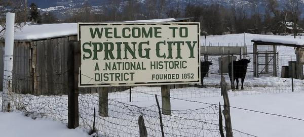 The city council of Spring City, Utah, would like to see all citizens of the town arm themselves.