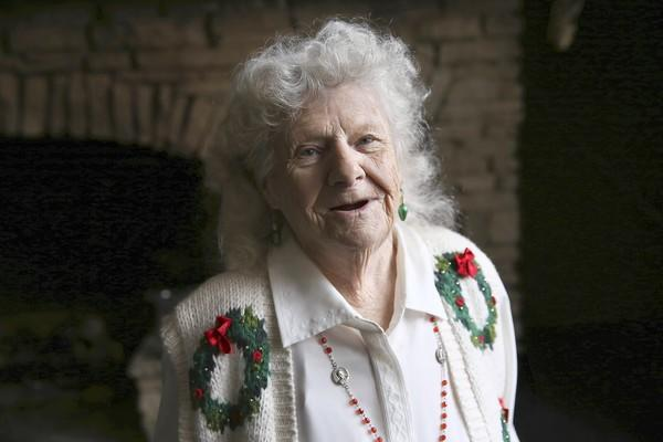 Josephine Stout, 90, lived in Chicago since she was a toddler and only found out in the late 1990s that she was undocumented.