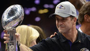 Ravens coach <strong>John Harbaugh</strong> will be inducted into the Cradle of Coaches Association and immortalized with a statue at Miami University's Yager Stadium, the school's Director of Athletics <strong>David Sayler</strong> announced today.