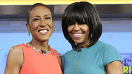 "First lady Michelle Obama said in a ""Good Morning America"" interview Tuesday that an automatic weapon was used in the shooting death of Hadiya Pendleton, but that detail — which is not supported by police accounts — was edited out when the interview was aired and posted to ABC's website."