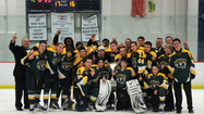 Atholton's state title defense ends against Easton in ice hockey semifinals