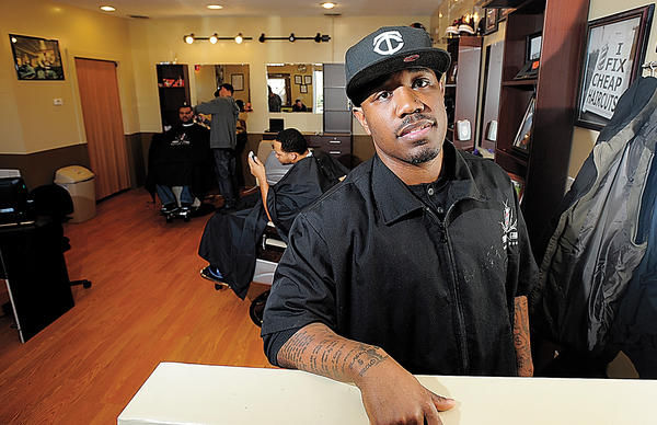 Errol McCurrie opened Sharp as an Errol Barber Shop in November at 835 E. Washington St., Suite 104, in Charles Town, W.Va.