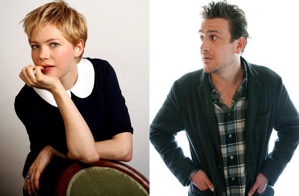 Michelle Williams and Jason Segel, both photographed here separately in 2011, have broken up.