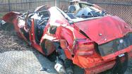 Vehicle involved in 142 mph crash