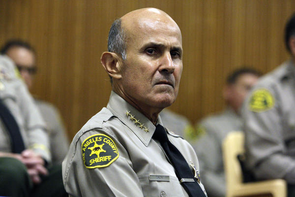 Los Angeles County Sheriff Lee Baca, who has been under fire for jailhouse abuses, has been picked as the nation's Sheriff of the Year.