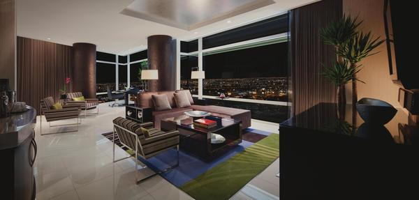 Aria Sky Suites in Las Vegas joins Forbes list of five-star hotels.