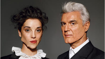 David Byrne and St. Vincent to Play New Haven's Shubert June 20