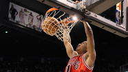 D-Rose Dunk of the Day: And stay down!