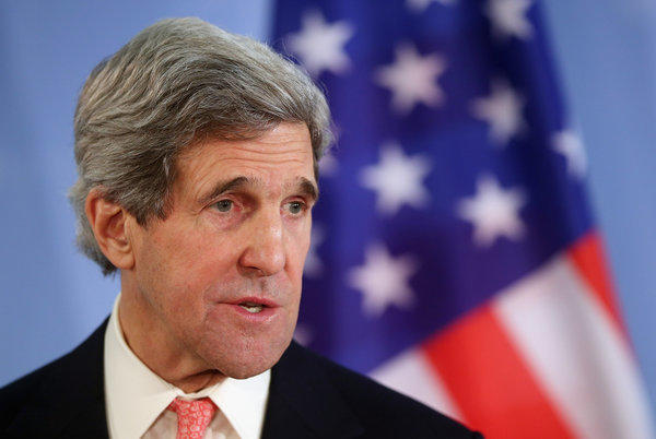 U.S. Secretary of State John Kerry, seen Tuesday in Berlin on a nine-country mission, confronts competing foreign policy objectives in addressing the demands of Syrian opposition forces and the need to keep Iranian nuclear talks and relations with Russia on track.
