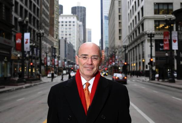Michael Edwards, hired in November as executive director of the Chicago Loop Alliance, says the group is trying to clarify what role it will play in economic development, housing, transportation, tourism, culture and services in the Loop.