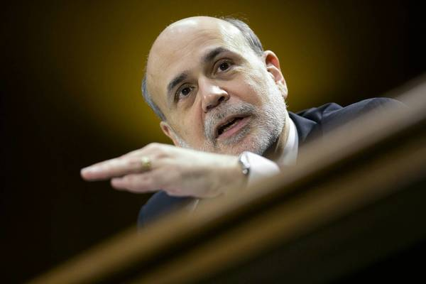 Federal Reserve Chairman Ben Bernanke testified before the Senate Banking Committee on Tuesday.