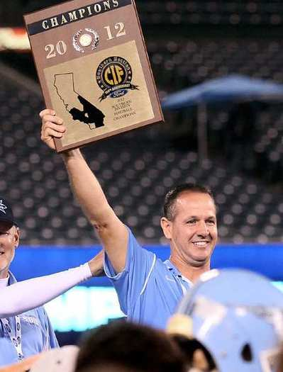 Corona del Mar High football coach Scott Meyer guided the Sea Kings to the CIF Southern Section Southern Division title in the fall.