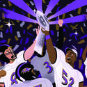 Ravens win the Super Bowl