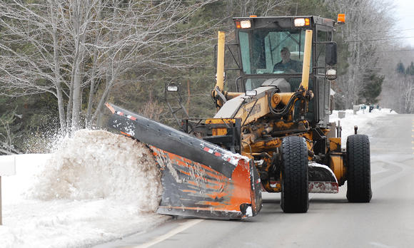 Emmet County snow plow