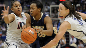 UConn Women Beat Pitt, 76-36