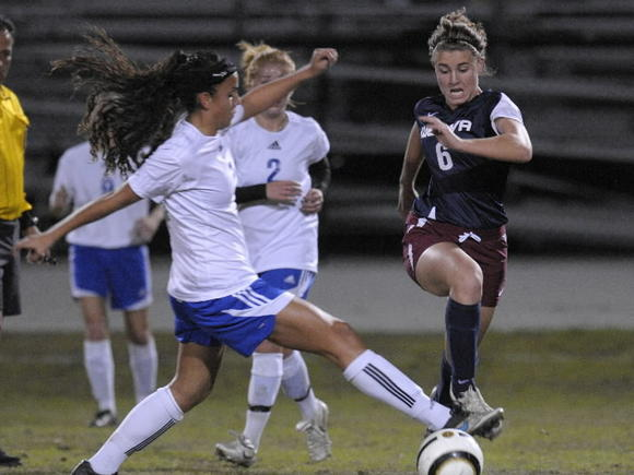Apopka's Selena Jaimes, left, and Wekiva's Paxton Sickler, will play in the All Star Girls Soccer Classic.