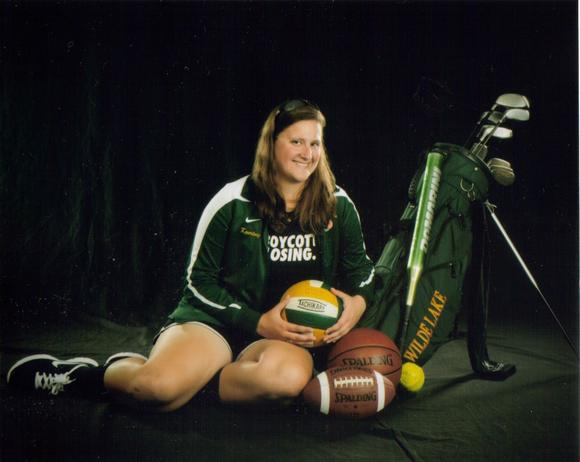 WIlde Lake senior Kourtney Harrison