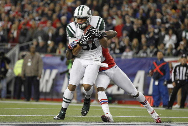 The cap strapped New York Jets couldn't afford to retain Dustin Keller, who has been one of the NFL's promising seam threats before an injury-shortened 2012 season. The 28-year-old has averaged 48 catches and scored 17 touchdowns in his five seasons.