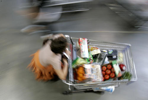 Zack, who lives in New York City, drives to New Jersey to shop at bulk retailers, such as Sam's Club. He fills large duffle bags of food to bring back to the city.