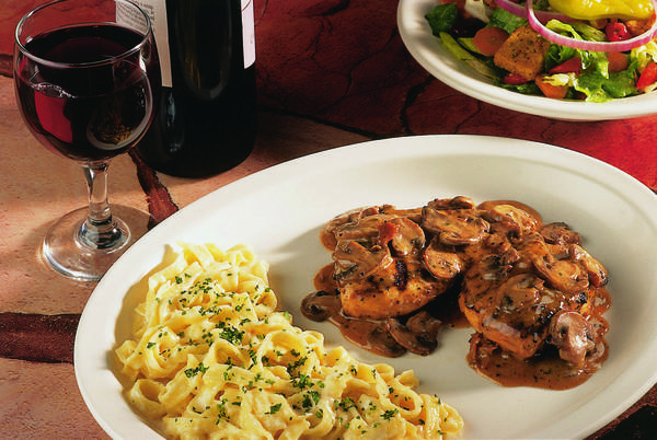 Follow a few simple steps to whip up Carrabba's recipe for chicken marsala.