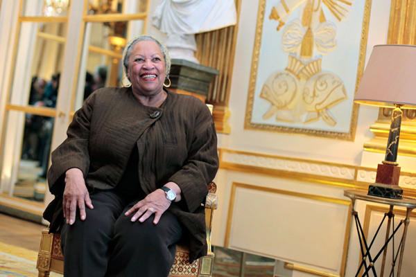 Toni Morrison in November 2010 at the ceremony where she was awarded the French Legion of Honor.