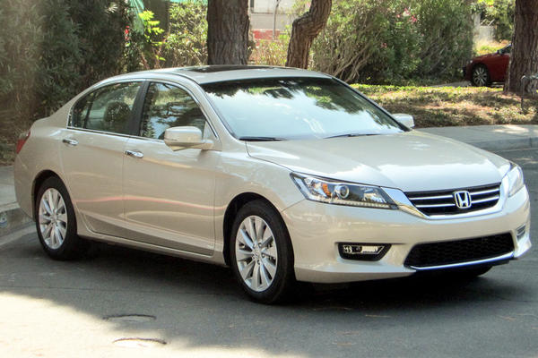 A plug-in Honda Accord will be sold only in California and New York at first.