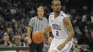 NORFOLK — Aaron Bacote takes the long view, which is both understandable and wise as Old Dominion winds down a historically dismal basketball season.