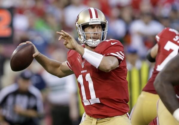 The San Francisco 49ers are reportedly sending Alex Smith to the Kansas City Chiefs. The deal can't officially be made until March 12 when the new league year begins.