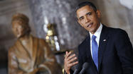 Obama praises Rosa Parks at statue unveiling in Capitol