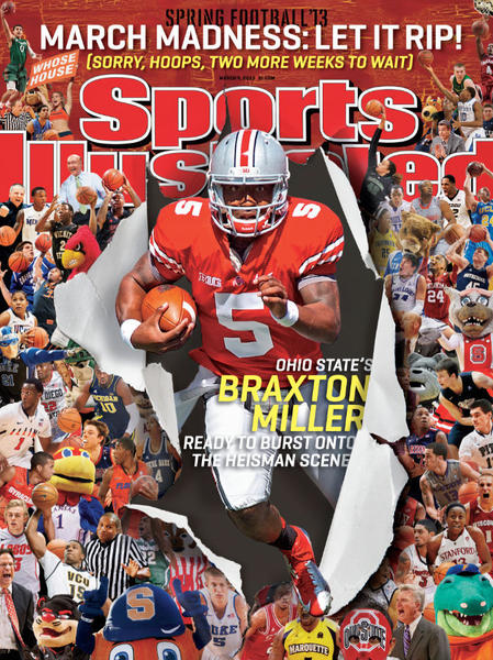 One of the regional covers for this week's Sports Illustrated.