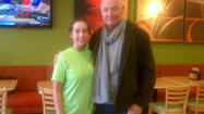 Locke and bagels: Terry O'Quinn breakfasting in Towson