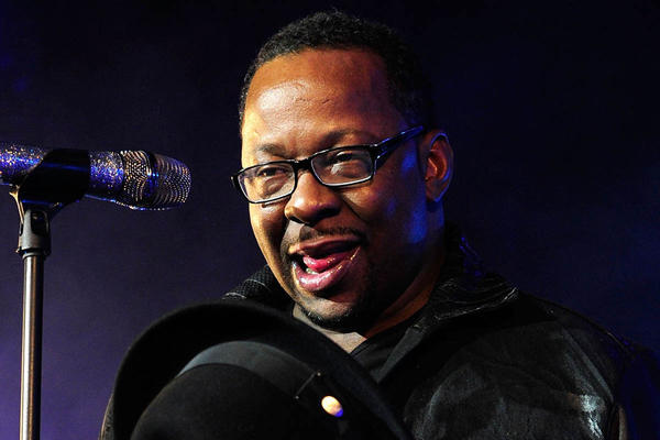 Bobby Brown performs at will.i.am's annual TRANS4M concert to benefit the I.Am.Angel foundation on Feb. 7 in Hollywood.