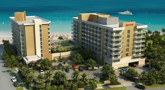Fort Lauderdale Marriott Pompano Beach Resort  rendering