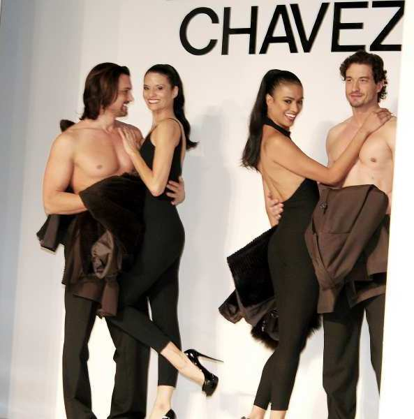 The male models in the Lourdes Chavez Collection were favorites with the women at the Las Candelas luncheon and fashion show.