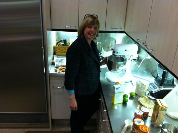 Corrine Kozlak in the Tribune test kitchen.