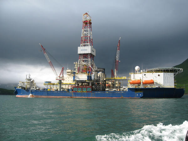 The Noble Discoverer conducted preliminary drilling in the Chukchi Sea in 2012.