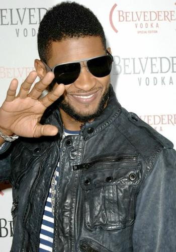 Usher helped usher in the Grammy Awards with a vodka-infused party Thursday at Avalon in Hollywood.<br> <br> The star-studded affair also marked the launch of (Belvedere) Red, a special-edition vodka for (Product) Red, the charity organization that helps raise money to fight AIDS, tuberculosis and malaria.