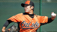 Orioles lefty Tsuyoshi Wada throws another bullpen, says he feels 'stronger'
