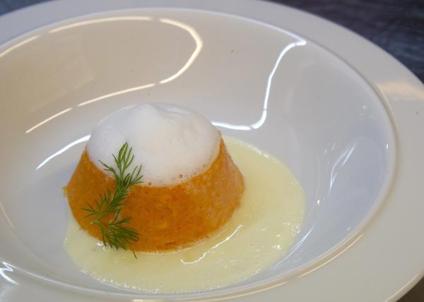 A paprika pudding.