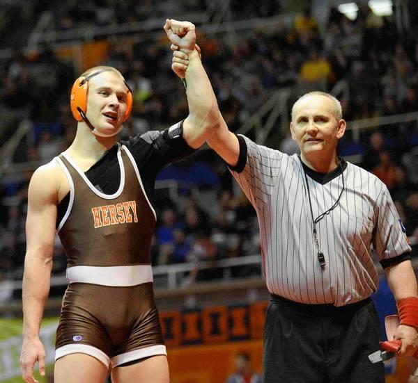 Hersey High School's Hunter Rollins